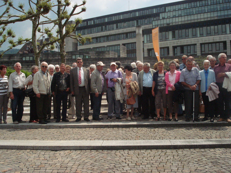 Die Pensionistengruppe Ludesch beim Ausflug.