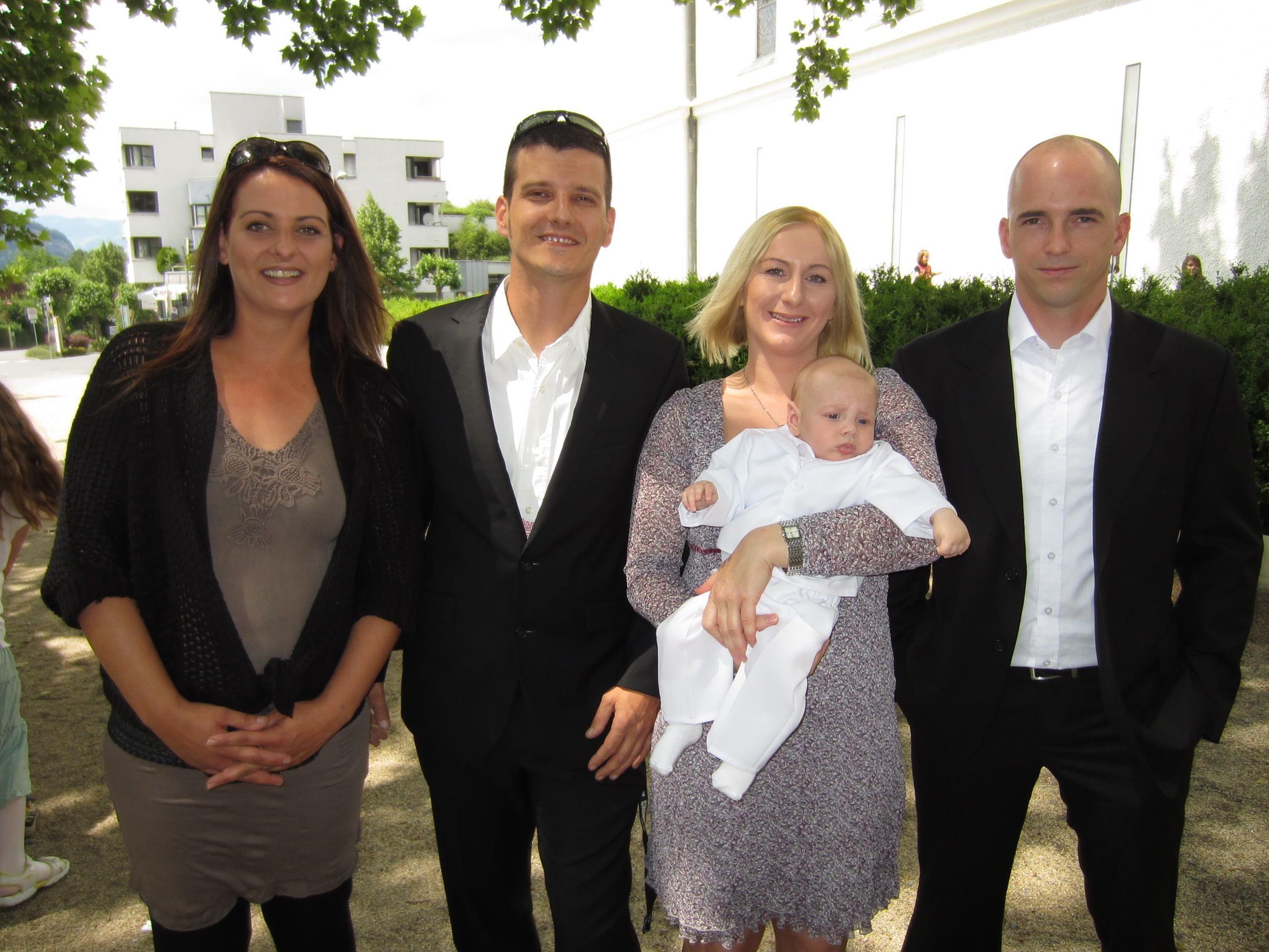 Lukas Mlinaric wurde getauft.