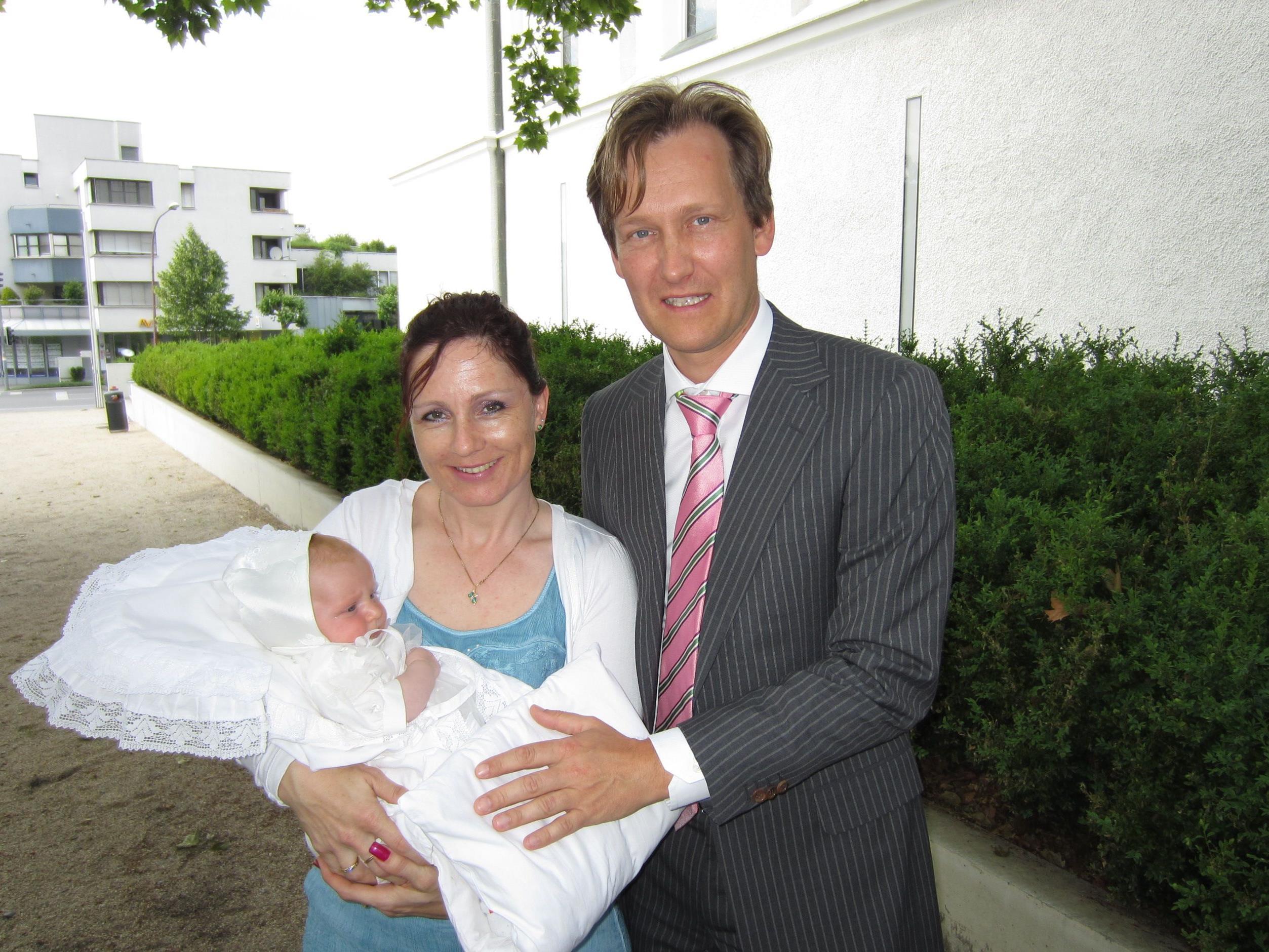 Pia Kitz wurde getauft.