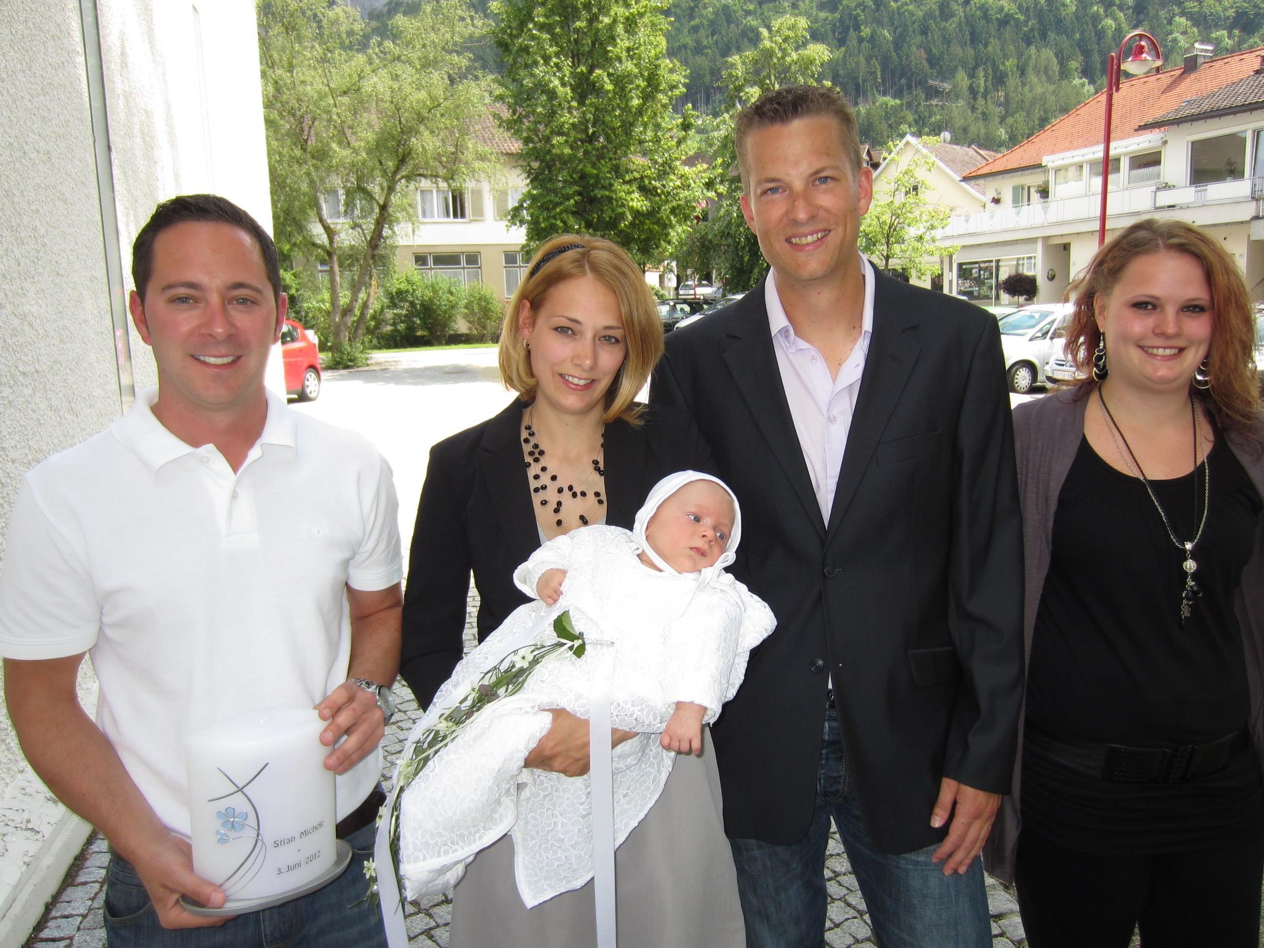 Stian Michele Jenny wurde getauft.