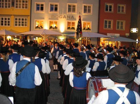 Der Musikverein Nofels wird am 7. Juli wieder auf dem Feldkircher Weinfest spielen