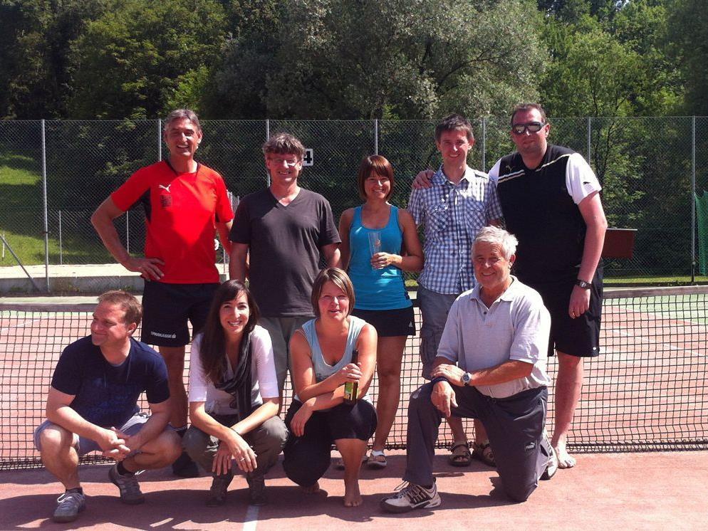 Die Meistermannschaft des UTC Egg