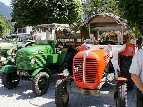Das Montafoner Traktorentreffen findet bereits zum vierten Mal statt.
