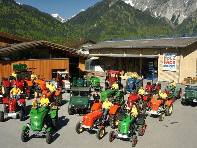 Die Montafoner Traktorfreunde laden am 29. und 30. Juni 2012 zum großen Kinderfest nach Vandans.