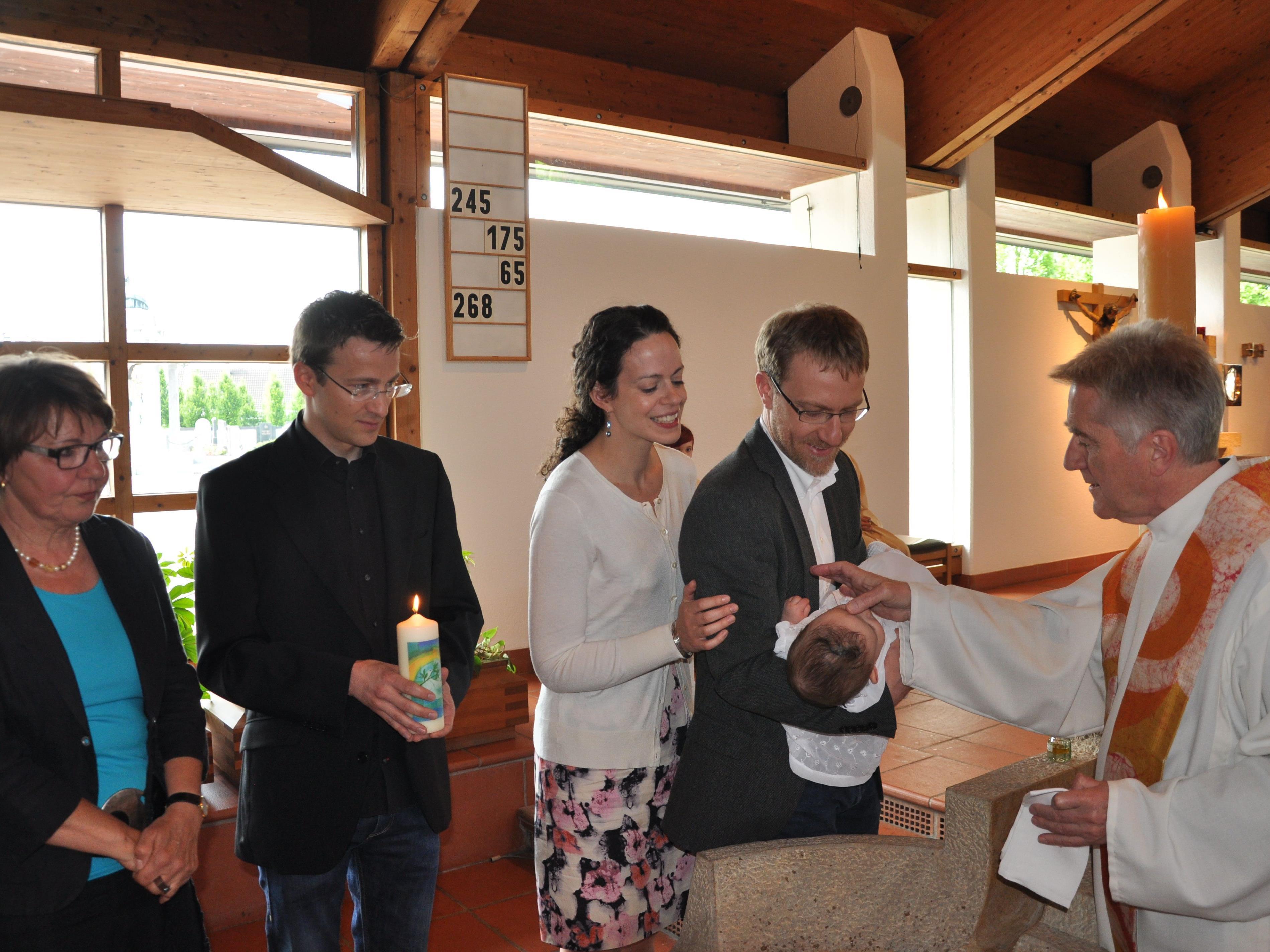 Taufe von Norah Marjorie Längle