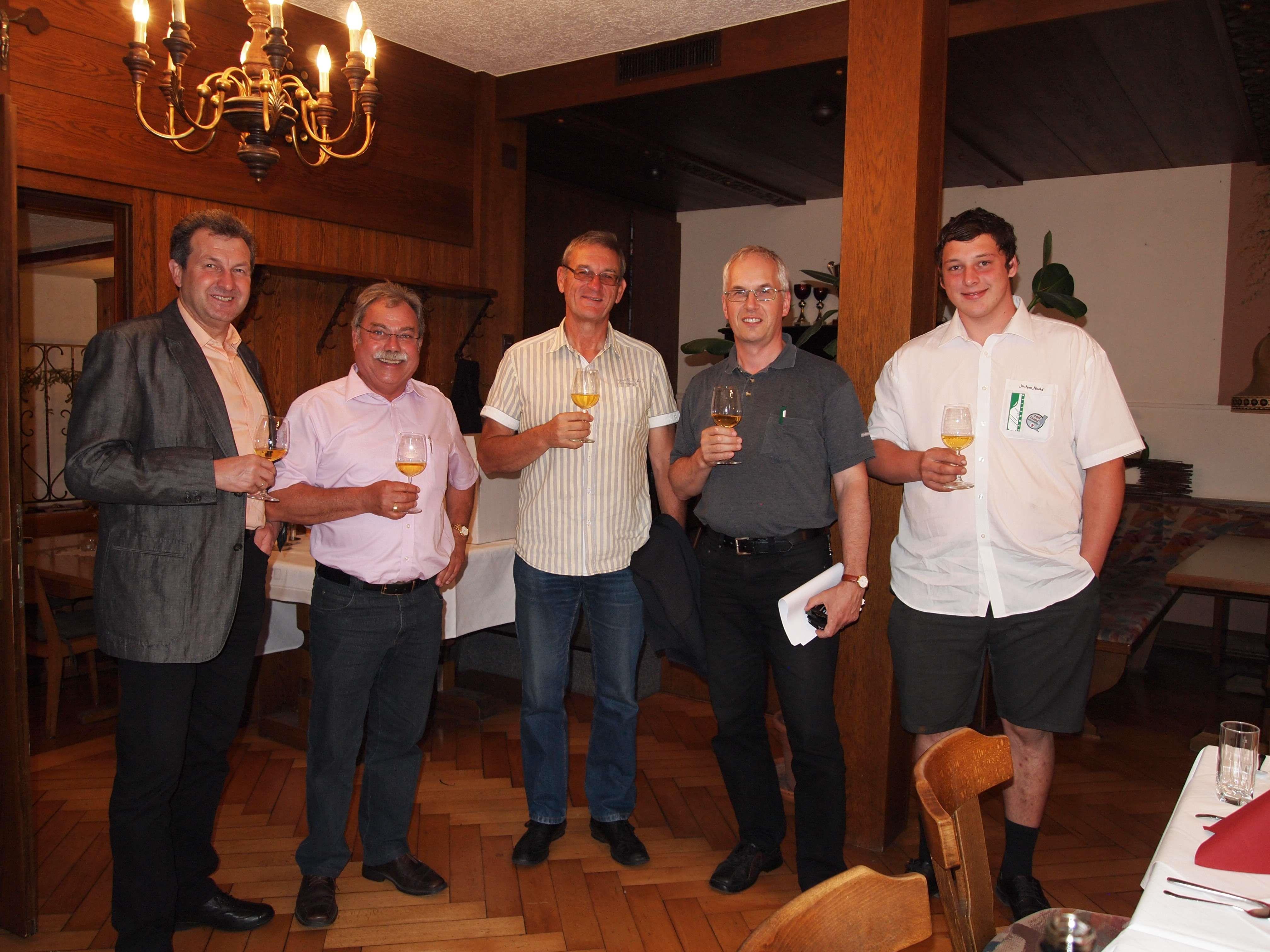 Ende Mai wurde in Koblach im GH Harmonie in feierlichem Rahmen der Vorarlberger Mostsommelierverein gegründet