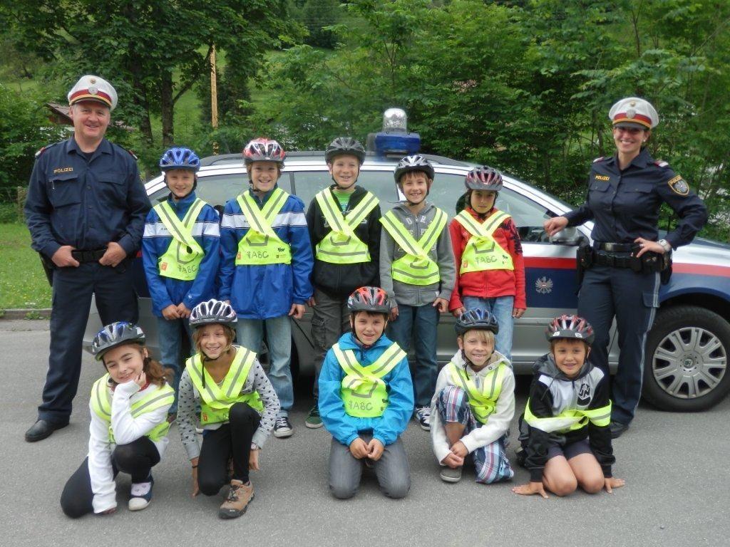 Fahrradführerschein Dalaas