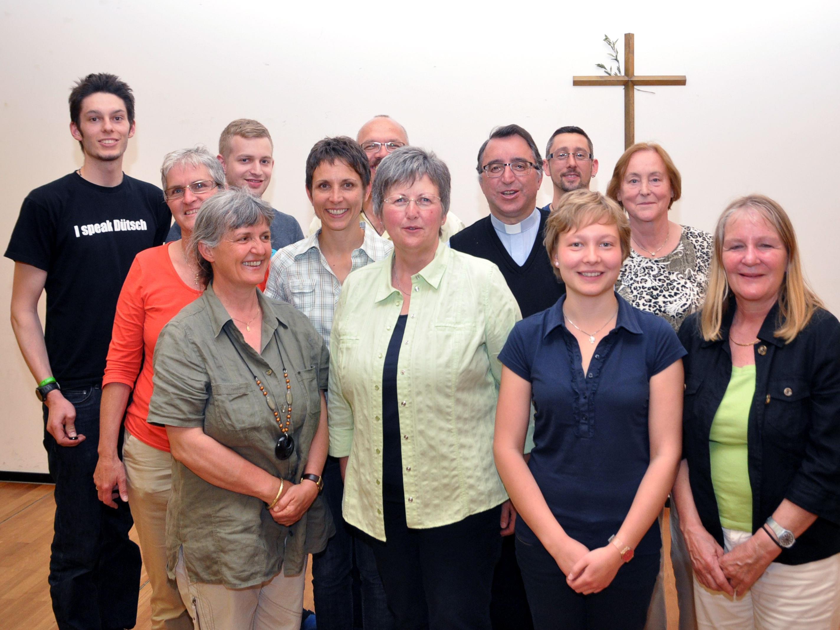 Der Pfarrgemeinderat St. Sebastian stellt sich vor.