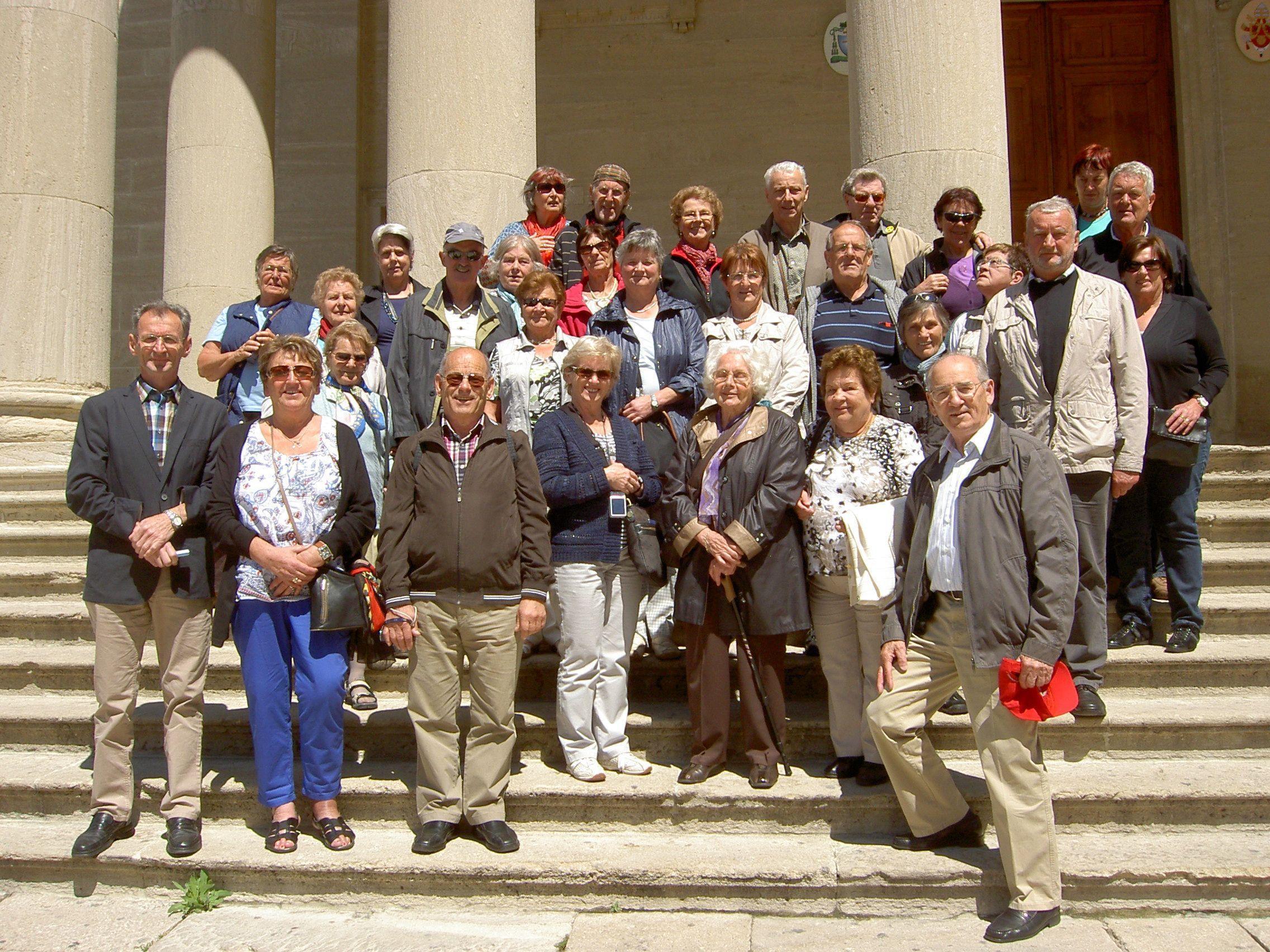 Der Seniorenbund Thüringen begab sich auf große Fahrt.