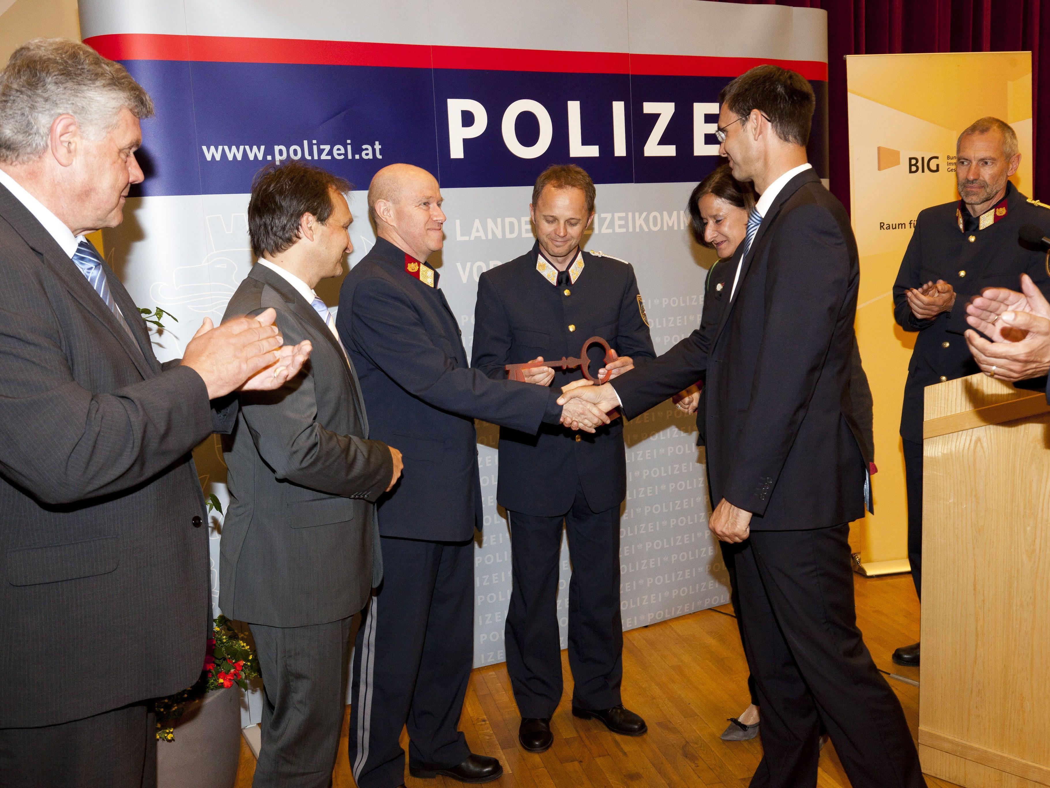 Generalsanierter Polizeistützpunkt in Bludenz feierlich eröffnet.