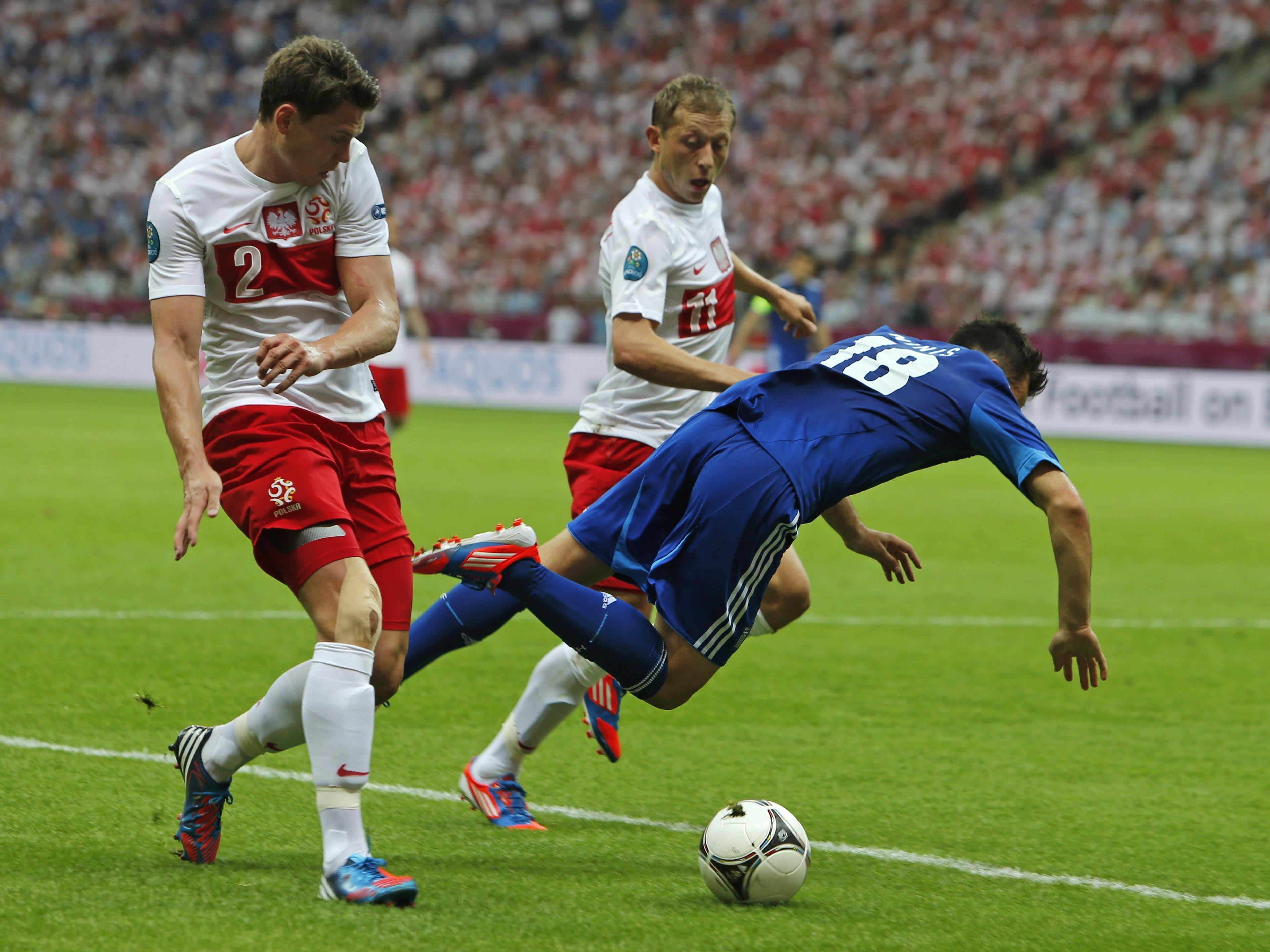 Eröffnungsspiel: Polen sind obenauf.
