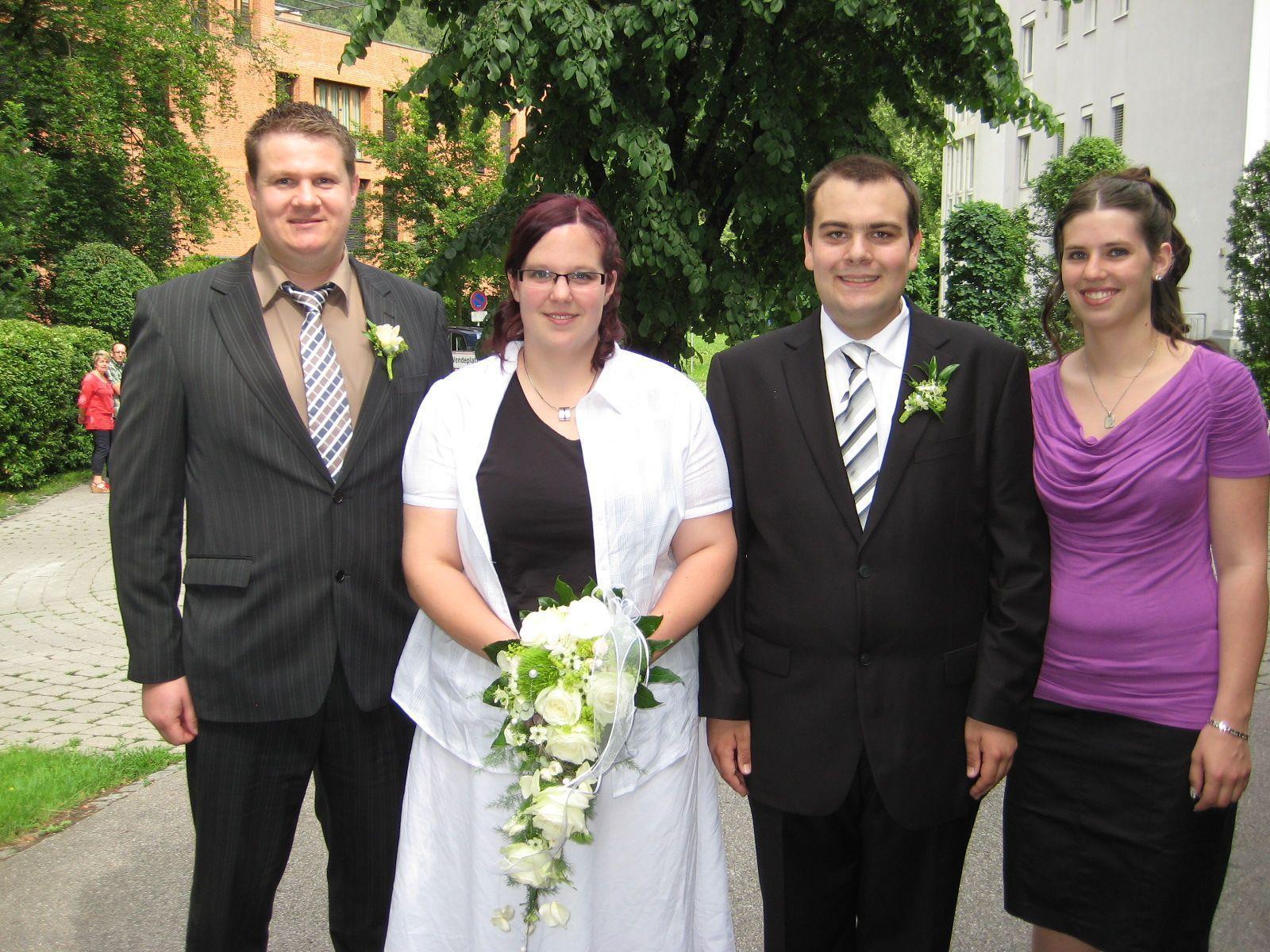 Sabine Lakner und Mathias Vonderleu haben geheiratet.