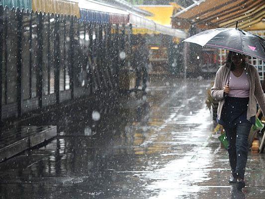 Regen bei eher kalten Temperaturen ist kommende Woche leider keine Seltenheit