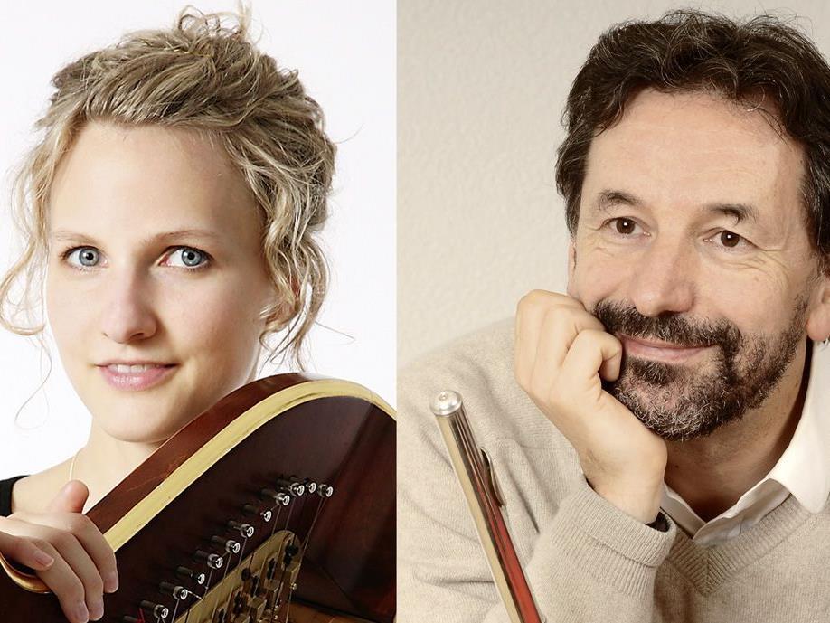 Stephanie Beck und Hieronymus Schädler begeisterten bei der Matinee im Kunstmuseum Vaduz.