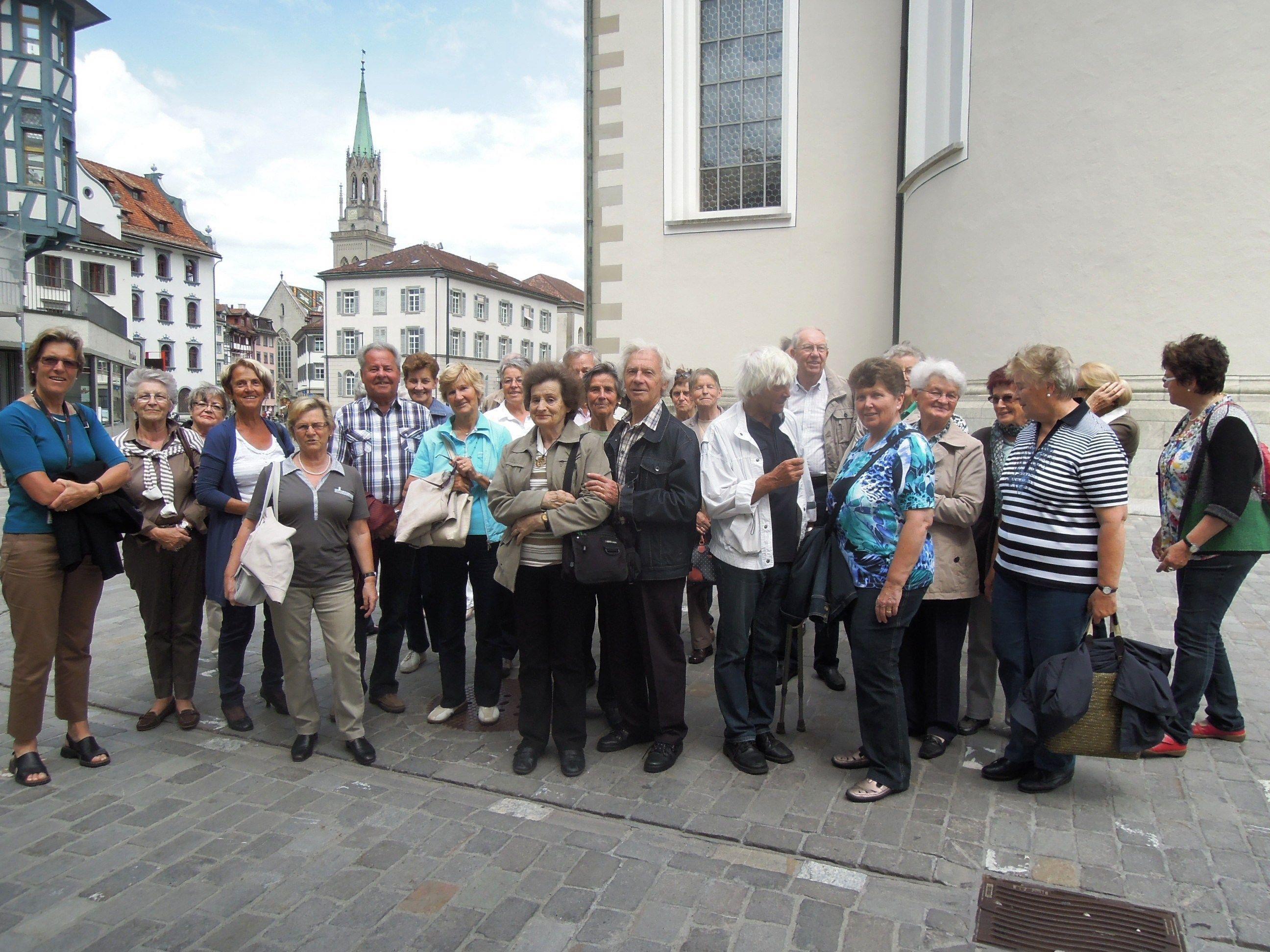 Ausflug der Senioren nach St.Gallen.