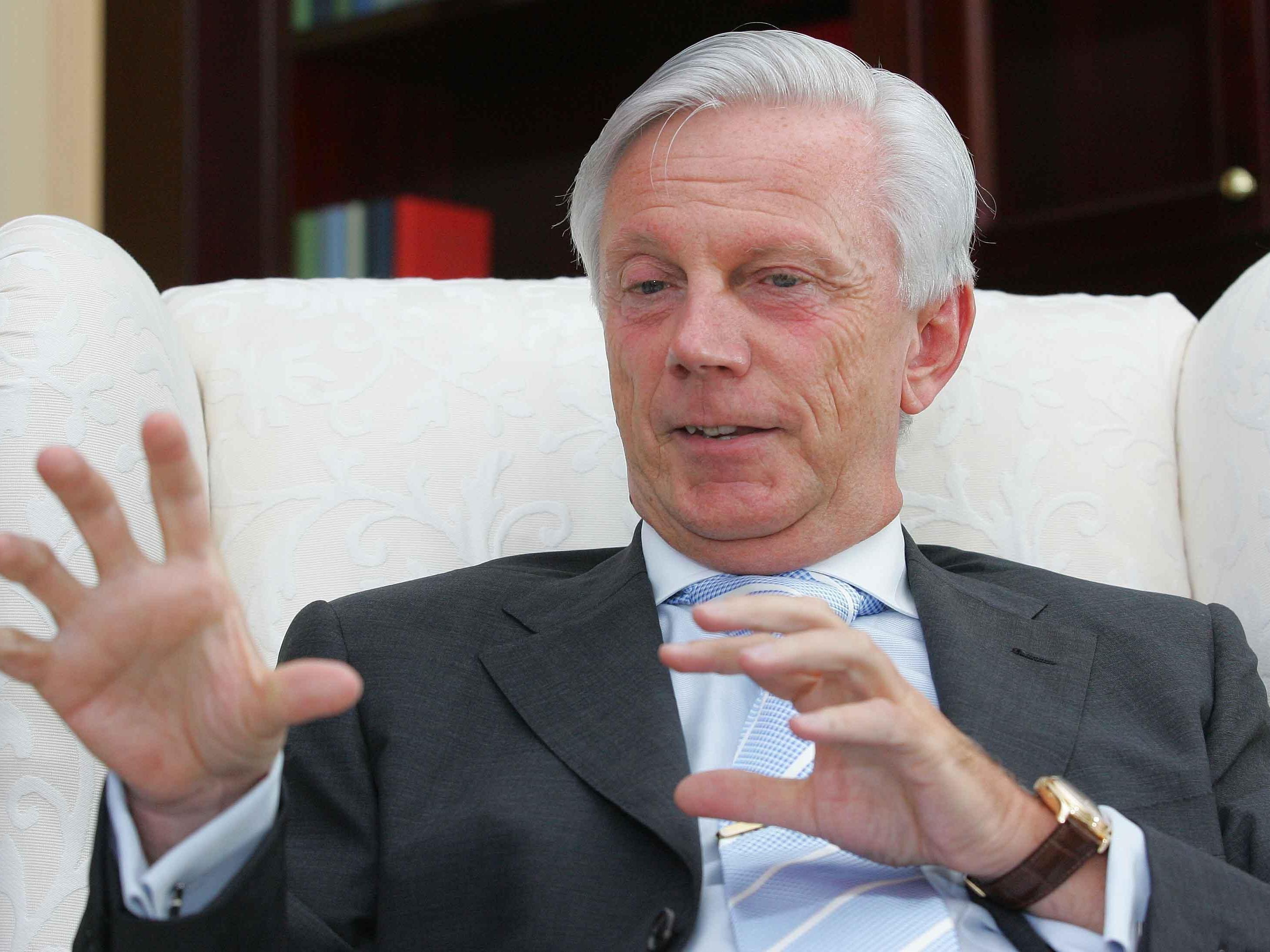 Günter Steinachers Firma macht 9 Mrd. Euro Umsatz - Die Nachfolge ist offen.