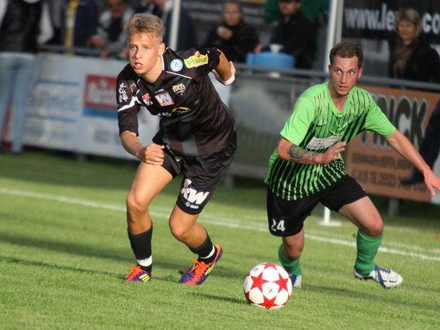 Julian Erhart spielte 45 Minuten im Altach-Dress.