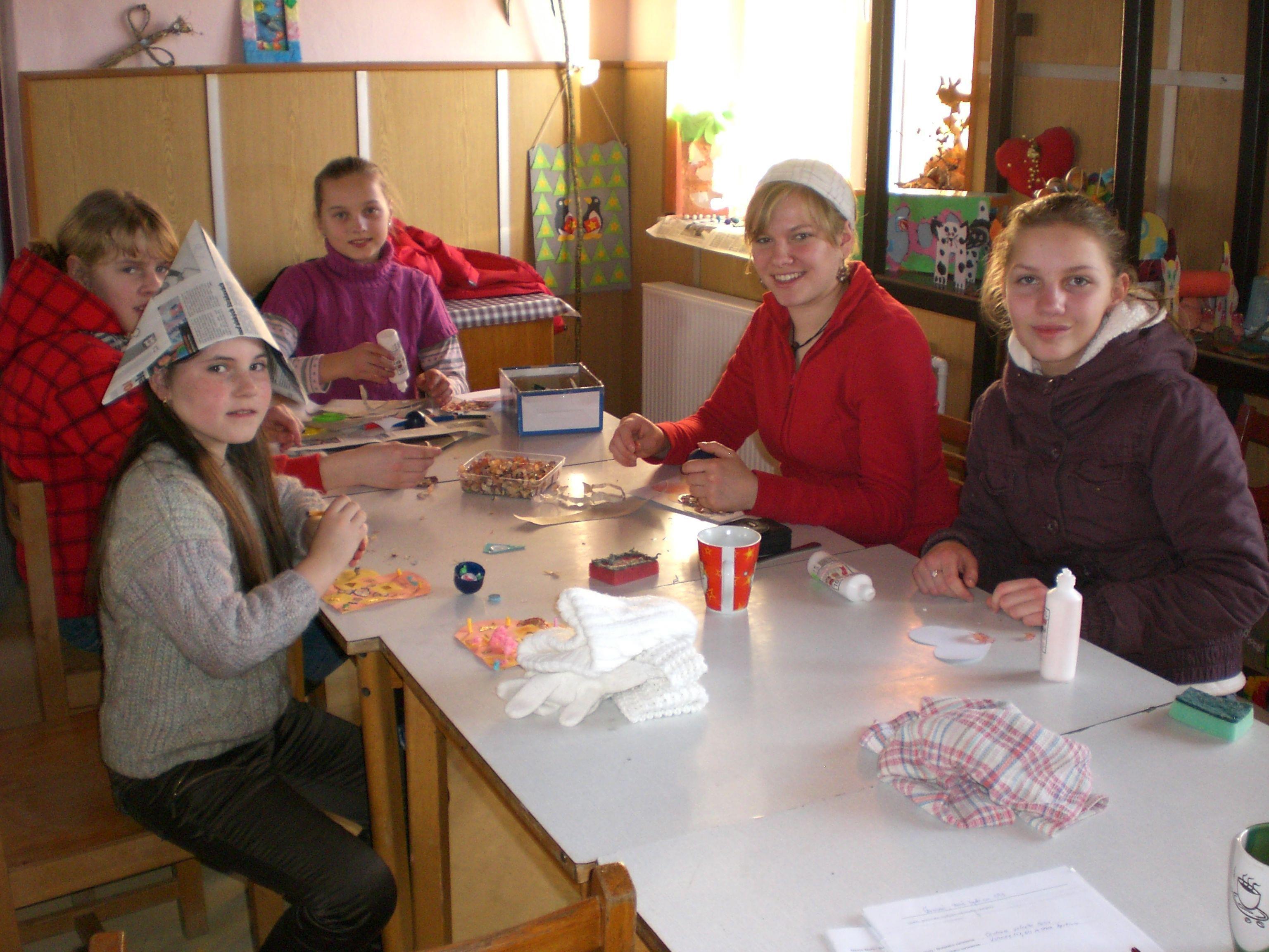 Ab 1. September 2012 gibt es die Möglichkeit für EFD-Einsätze in der Slowakei und in Norwegen. Im Bild: Tanja Heidegger in der Slowakei