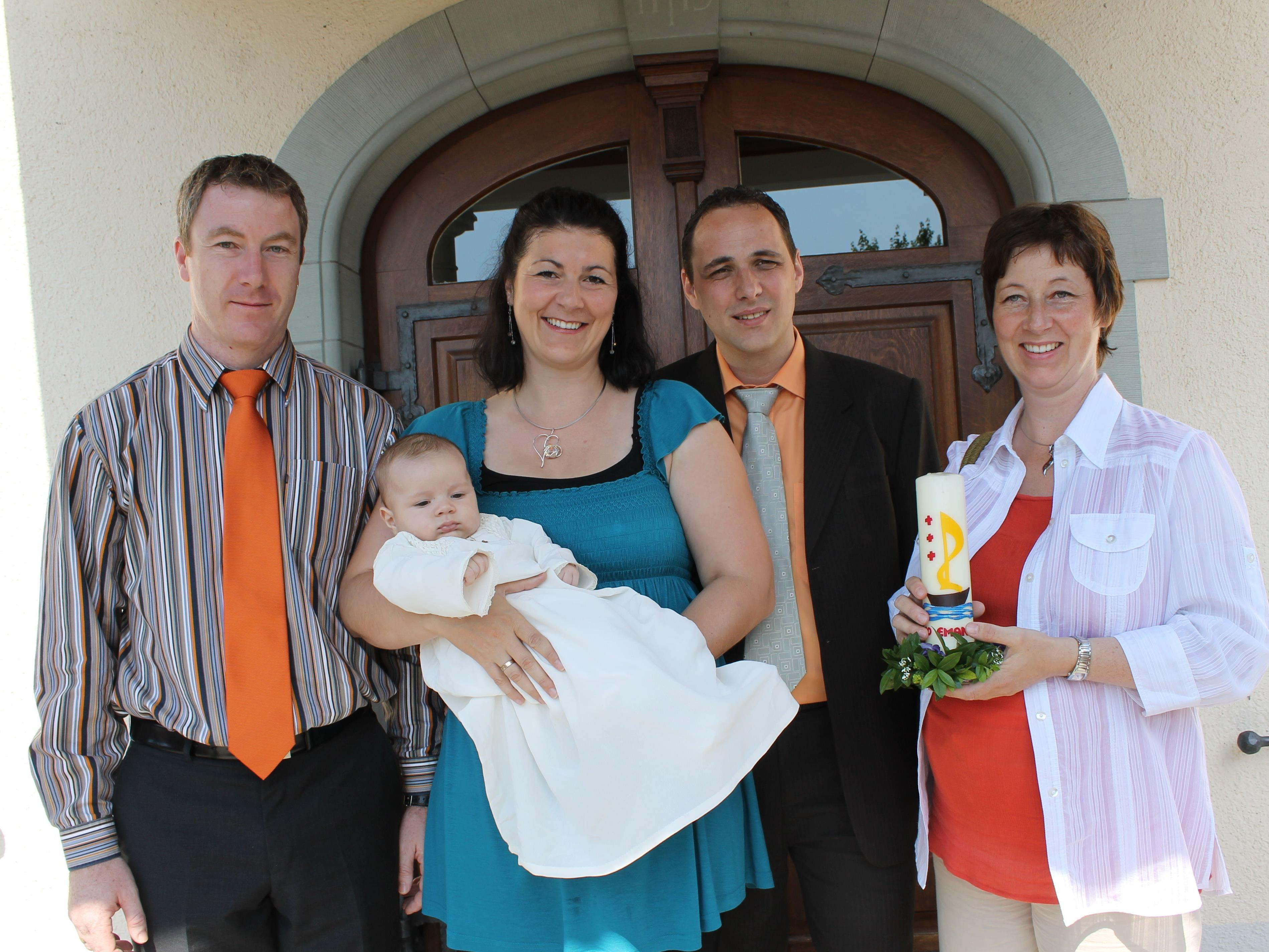 Leo Emanuel Stuchly wurde in Thüringerberg getauft
