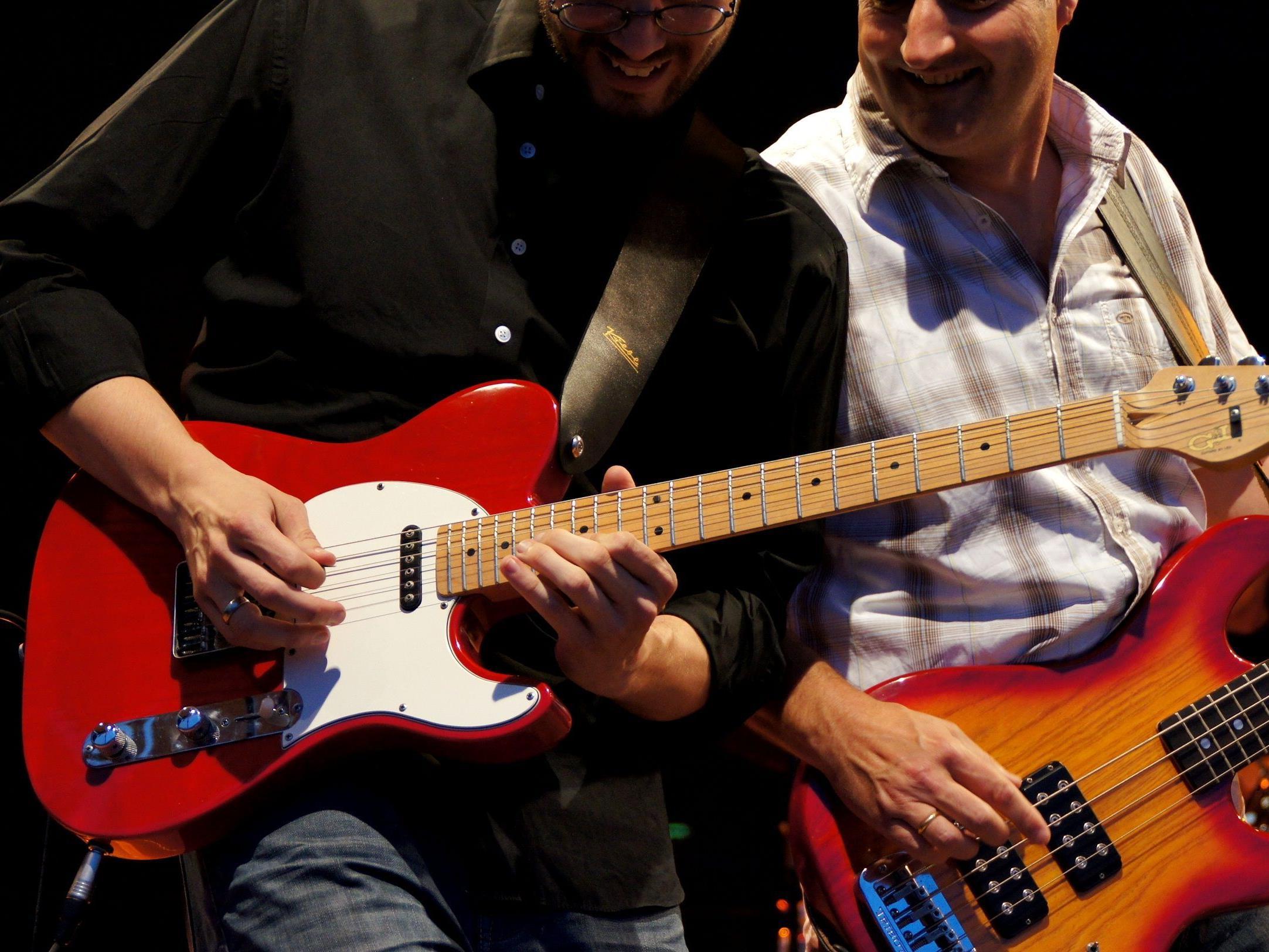 Blues und Grooves und Rock