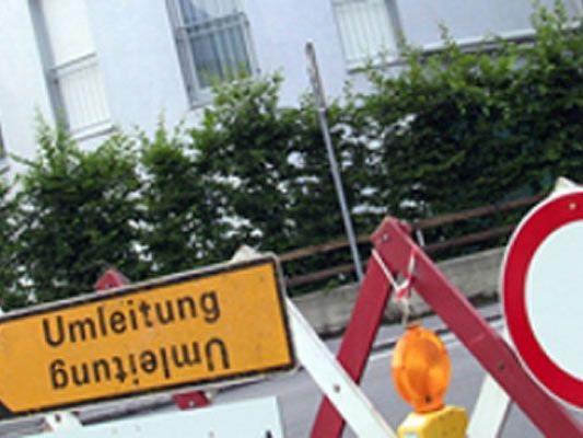 Lustenau: Großräumige Umleitung des Schwerverkehrs.