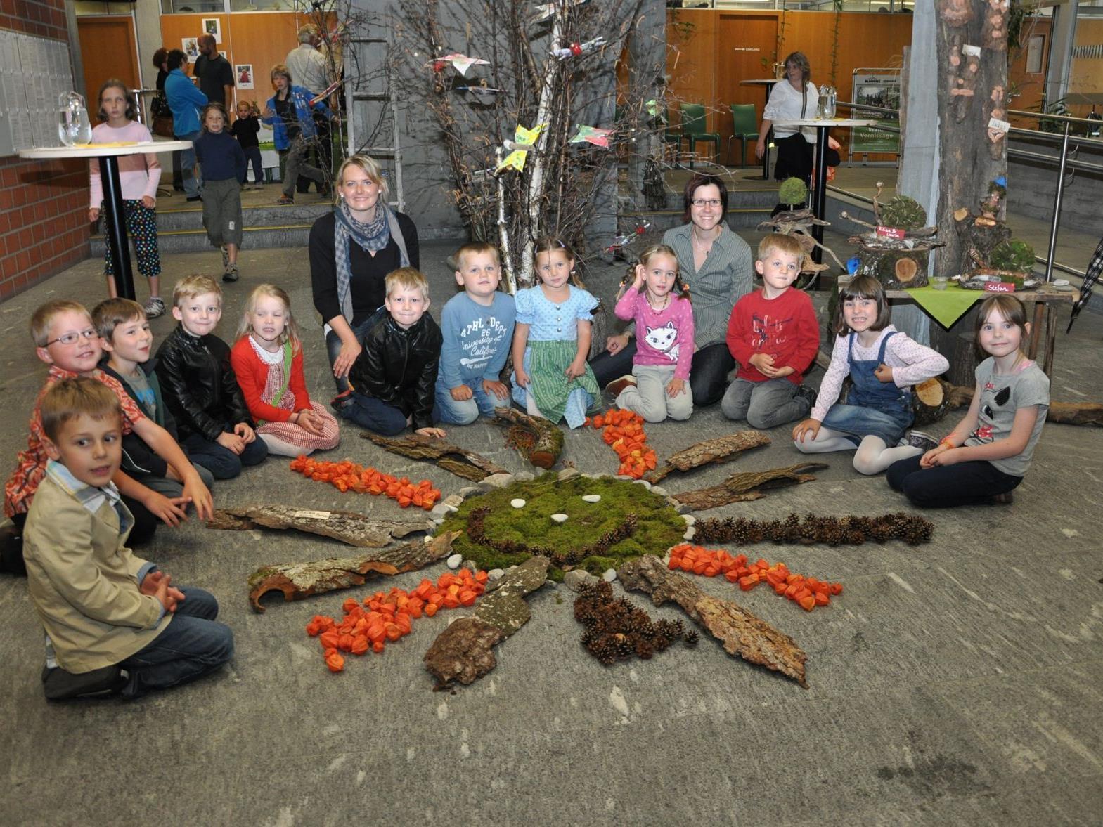 Kreativ und sozial ist das Motto im Bludenzer Waldkindergarten.