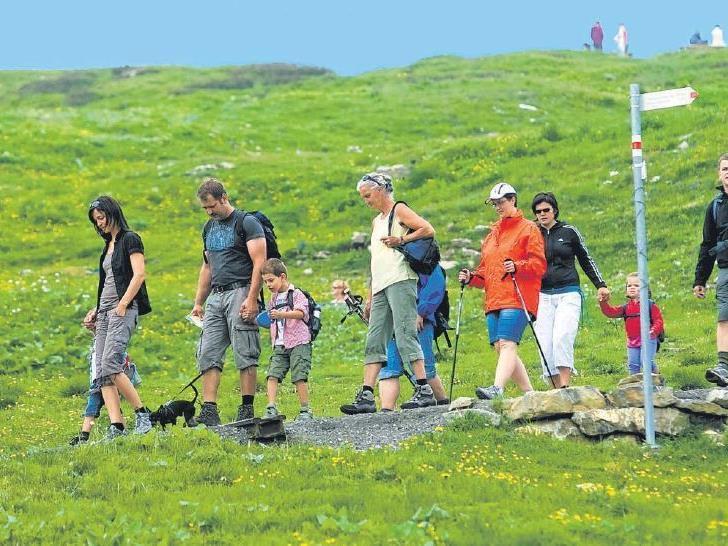 Genießen Sie mit Ihrer Familie Natur pur am Diedamskopf
