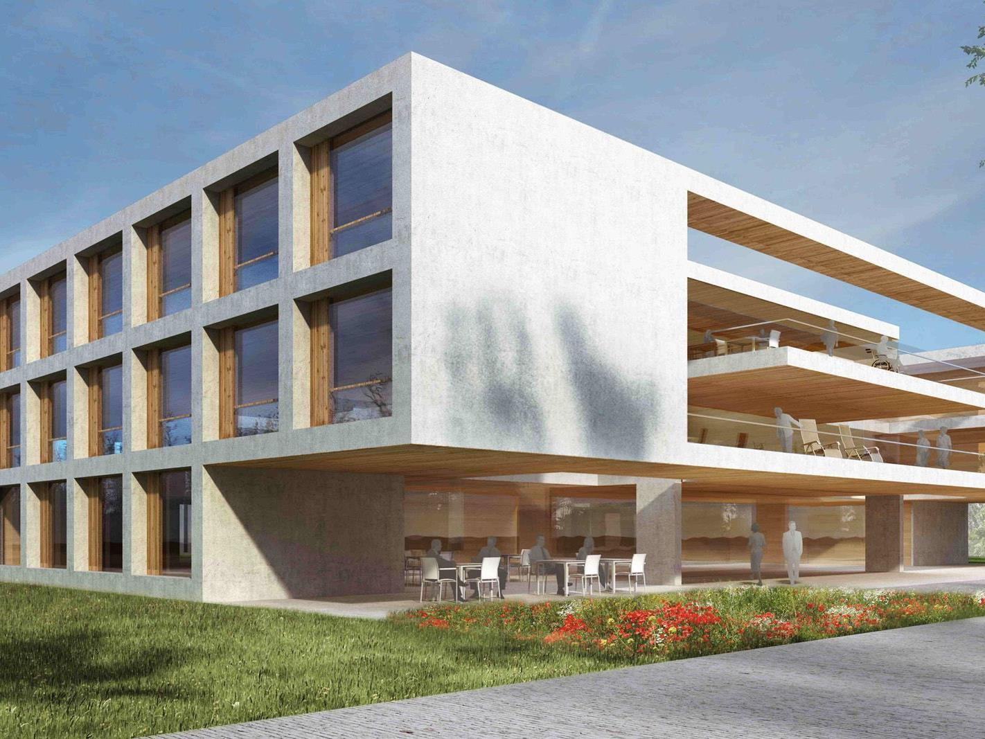 Das Siegerprojekt zum Bau des neuen Pflegeheimes Höchst Fußach
