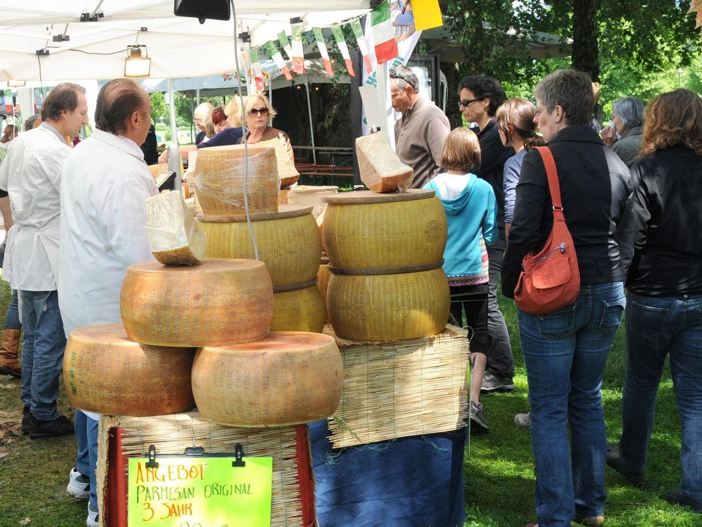 Feinste Spezialitäten aus dem Piemont beim Markt von 8. bis 10. Juni in Hard.