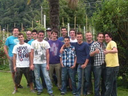FC Schruns 1b in Algund/Südtirol