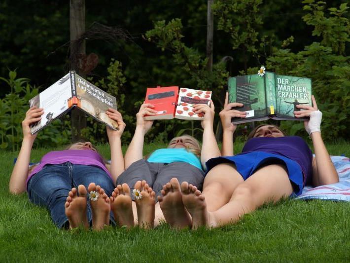 Vom 19. bis 21. Juni dreht sich in Götzis alles nur ums Lesen.
