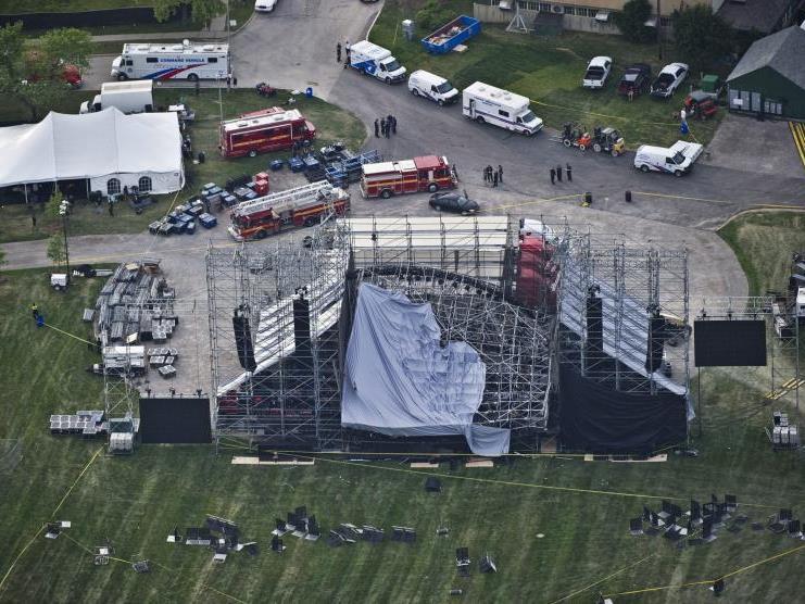 """Tragisches Unglück vor """"Radiohead""""-Konzert"""