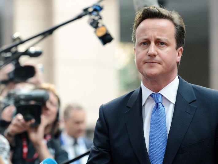 Erst zu Hause bemerkten Cameron und seine Frau, dass ihre Tochter verschwunden war.