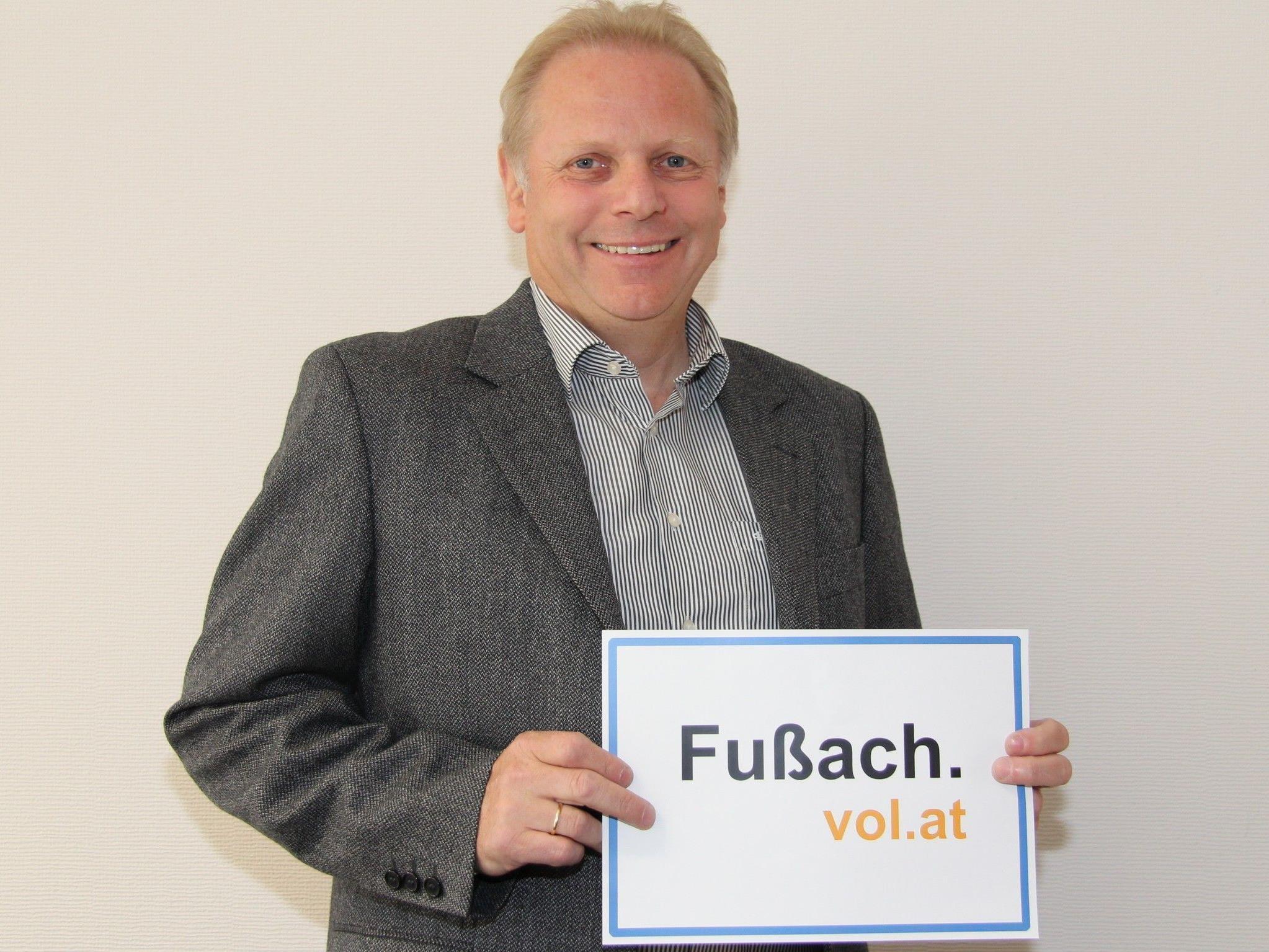 Bürgermeister Ernst Blum im Gespräch mit VOL.AT.