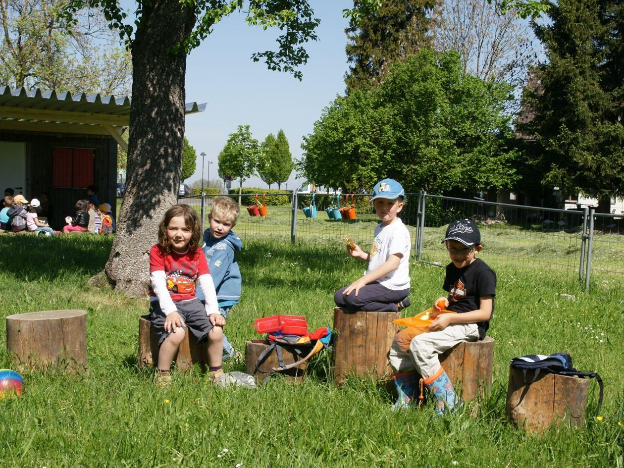 Kids werden im Kindergarten Seezentrum auch in den Sommerferien gut betreut.
