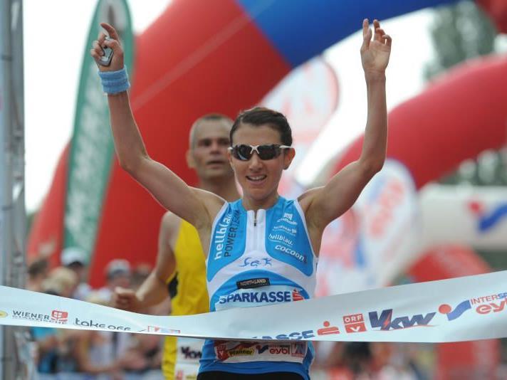 Attraktive Preise stellt die Wirtschaftskammer Vorarlberg beim Marathon zur Verfügung.