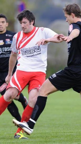 Simon Beck war erfolgreichster Torschütze vom Meister SV Satteins.