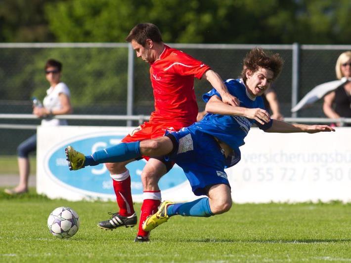 Letztes Saisonspiel von RW Langen gegen Kennelbach.