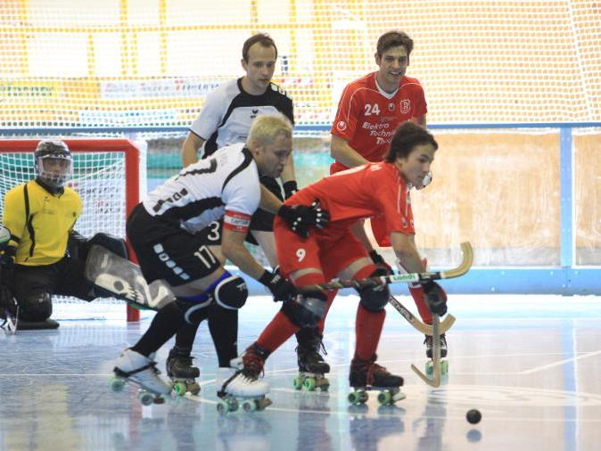 RHC Dornbirn ist weiter das Maß aller Dinge im Rollhockeysport.