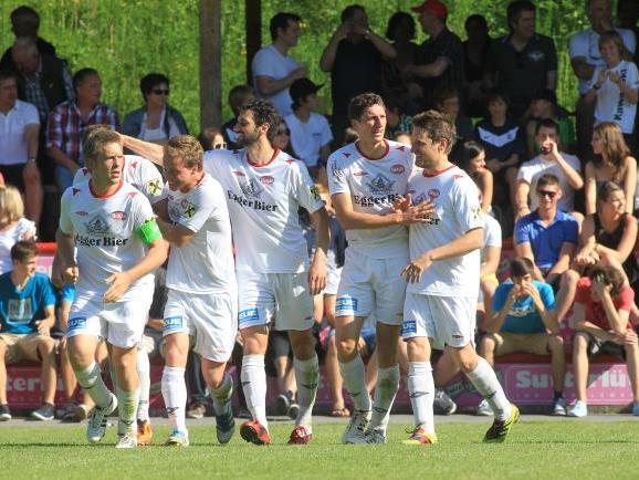 FC Egg gewinnt vor 900 Zuschauern das Wälderderby gegen Andelsbuch überraschend 2:0.