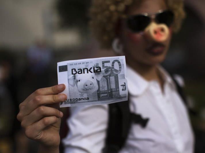 Die Krise in Spanien weitet sich aus.