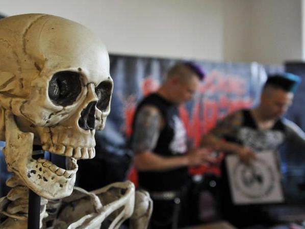 """Freunde des Genres treffen sich in Wien beim """"Weekend of Horrors""""."""