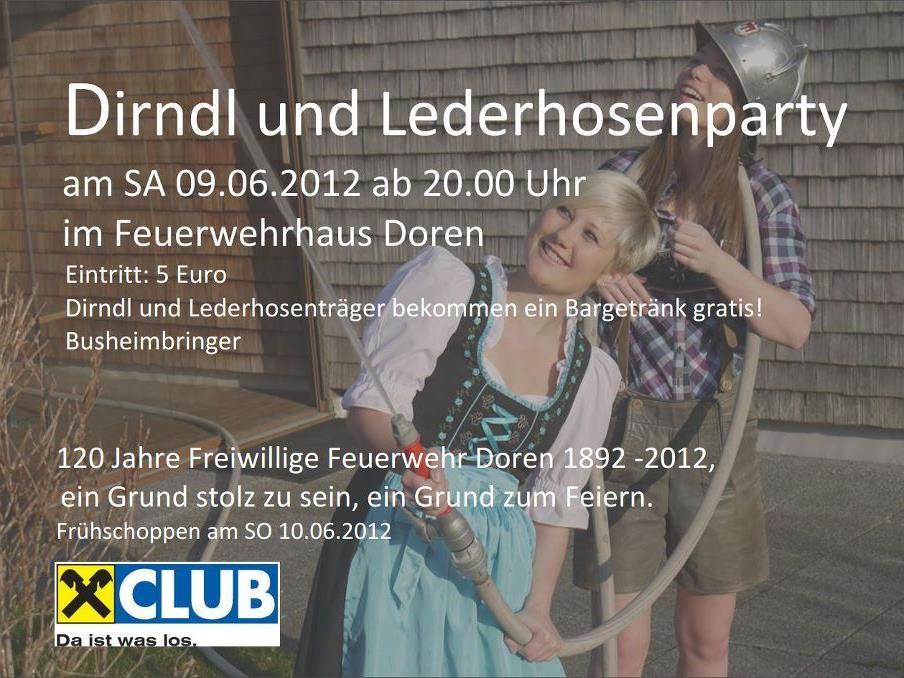 Am Samstag, den 09.06.2012 im FW Haus Doren