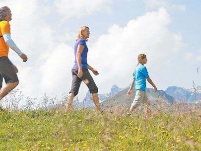 VN-Erlebniswandertag am 24. Juni auf dem Bewegungsberg Golm.