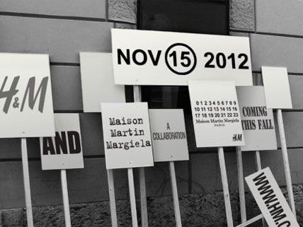 Ab dem 15. November ist die von Martin Margiela entworfene Kollektion in ausgewählten H&M-Filialen erhältlich.