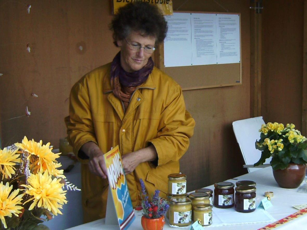 Elisabeth Vögel wird künftig auch am Wochenmarkt anzutreffen sein.