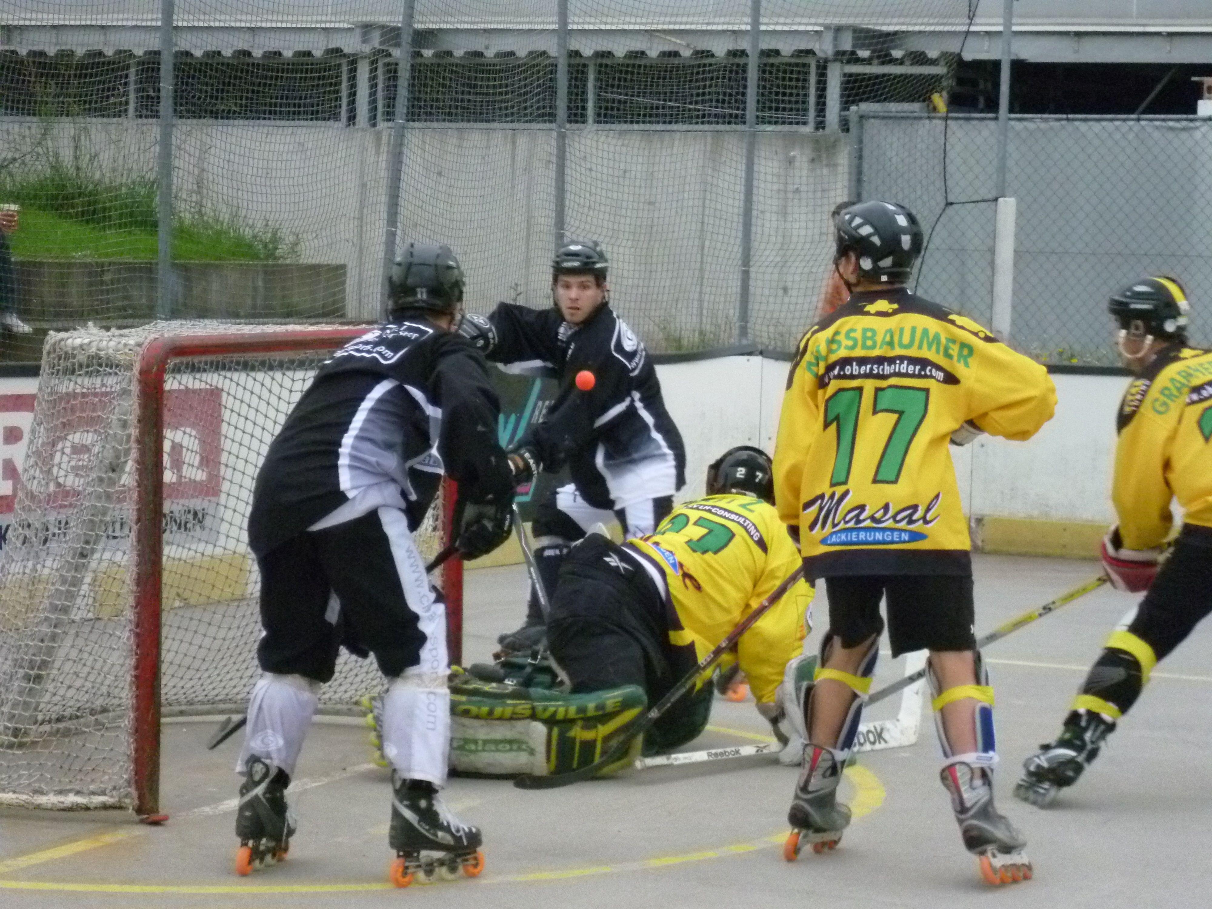 Inline-Hockey vom Feinsten verspricht das Event am nächsten Samstag in Dornbirn.