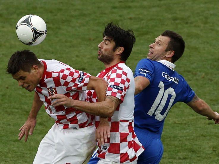 Hart umkämpftes Match zwischen Italien und Kroatien