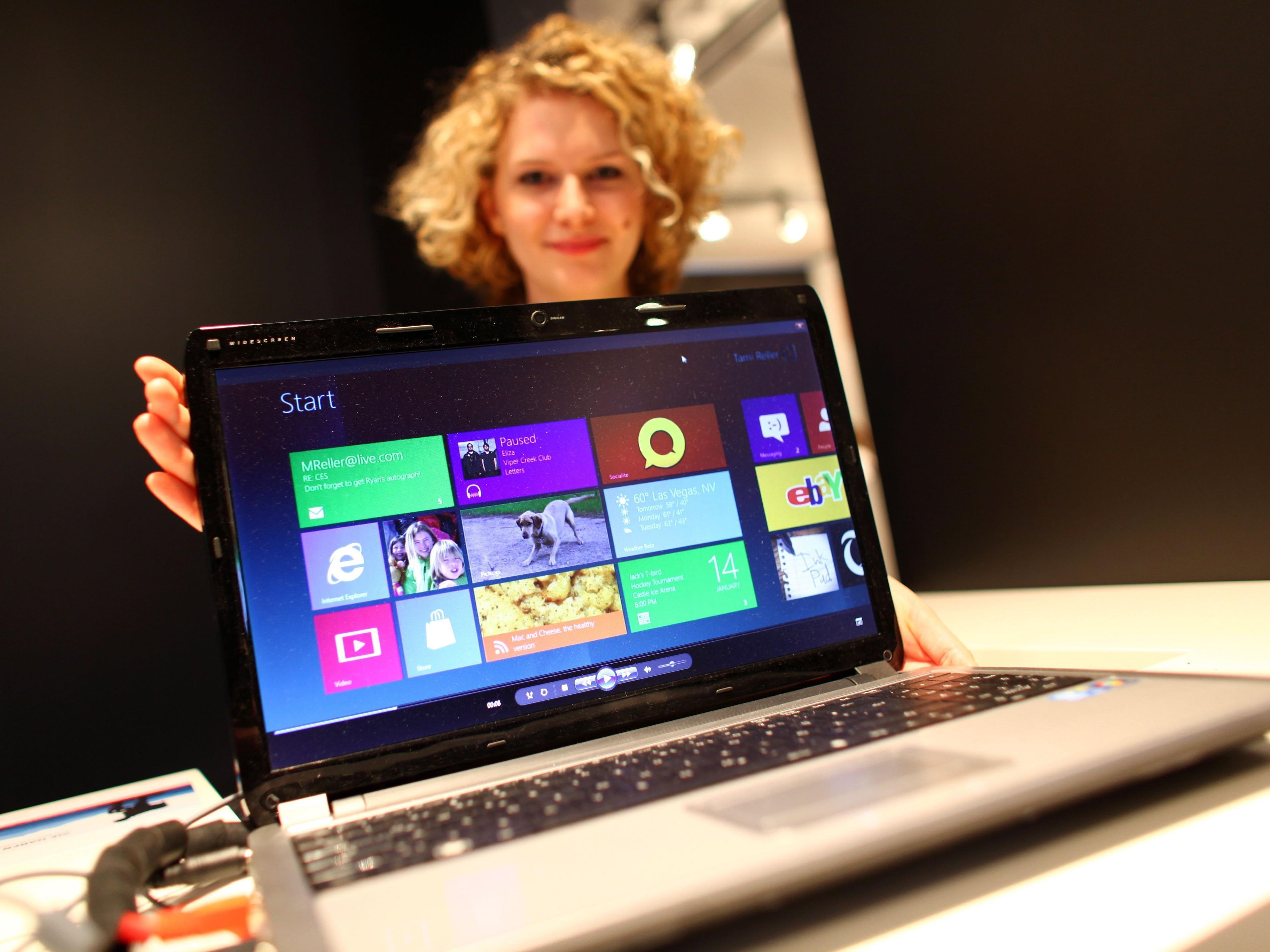 Die finale Version von Windows 8 wird in der Branche für den Herbst 2012 erwartet.