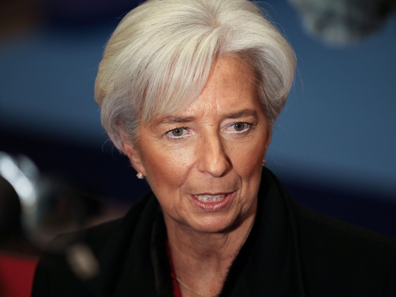 IWF-Chefin Lagarde trägt Kleider 20 Jahre lang.